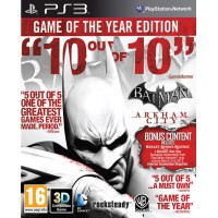 Batman: Arkham City Game of the Year (PS3) Русские субтитры