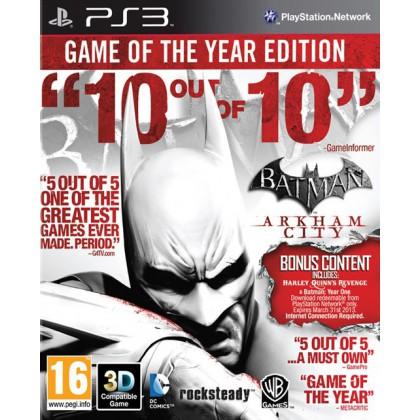 Batman: Arkham City Game of the Year (PS3) Русские субтитры