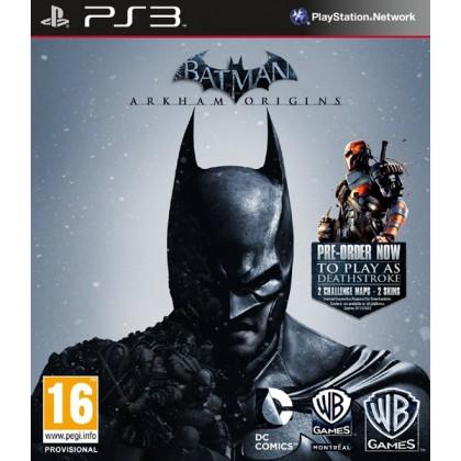 Batman: Arkham Origins - Бэтмен: Летопись Аркхема (PS3) Русские субтитры