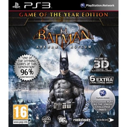 Batman: Arkham Asylum Game of the Year Edition (PS3)