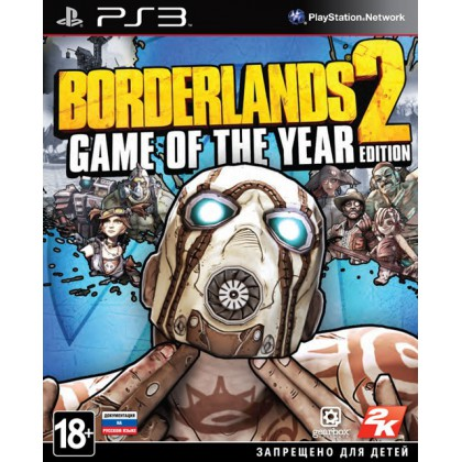 Borderlands 2 Game of Year Edition (PS3)
