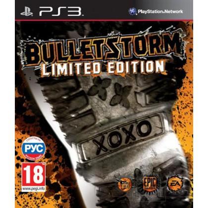 Bulletstorm Limited Edition (PS3) Русские субтитры