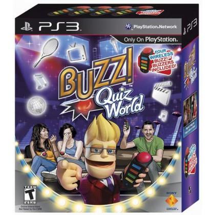 Buzz! Мировой турнир (PS3) Русская версия