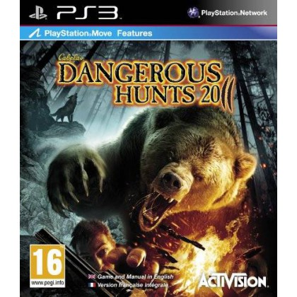 Cabela's Dangerous Hunts 2011 (PS3) Игра+ружье