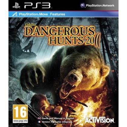 Cabela's Dangerous Hunts 2011 (PS3) Игра+ружье