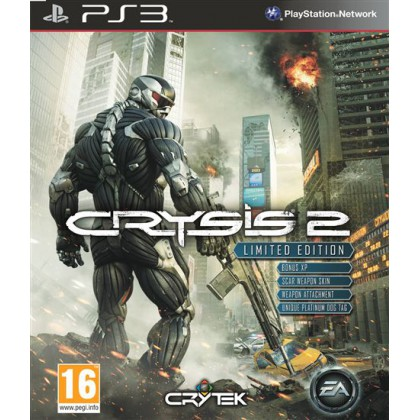 Crysis 2 Limited Edition (PS3) Русская версия