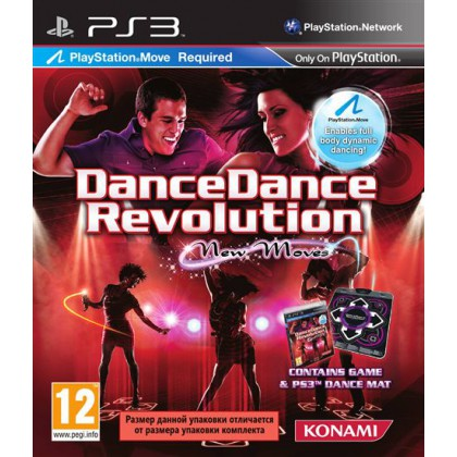 Dance Dance Revolution New Moves + Dance Mat (PS3)