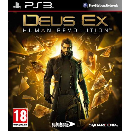 Deus Ex: Human Revolution (PS3) Русская версия