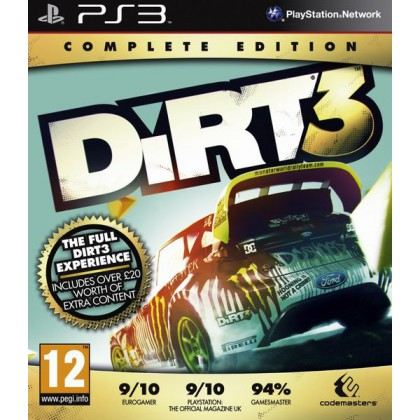 DiRT3: Complete Edition Полное издание (PS3)