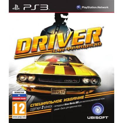 Driver: Сан-Франциско Специальное Издание (PS3) Русская версия