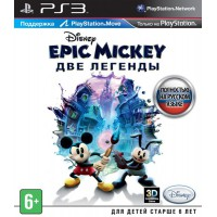 Epic Mickey: Две легенды (PS3) Русская версия