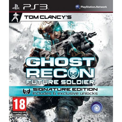 Tom Clancy's Ghost Recon Future Soldier Signature Edition (PS3) Русская версия