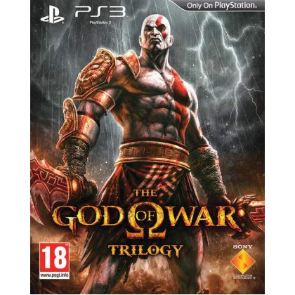 God of War - Трилогия (PS3) Русская версия