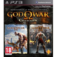 God of War Collection (PS3) Русская версия