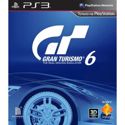 Gran Turismo 6 (PS3) Русская версия