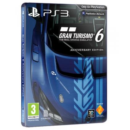 Gran Turismo 6 Anniversary Edition (PS3) Русская версия