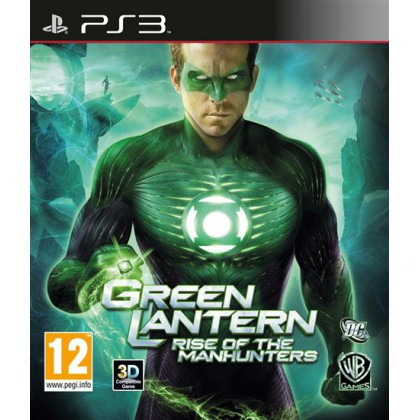 Green Lantern: Rise of the Manhunters (PS3)