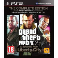 Grand Theft Auto 4 Complete Edition (PS3)