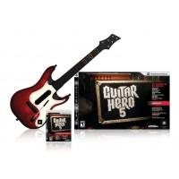 Guitar Hero 5 (PS3) Игра + Гитара