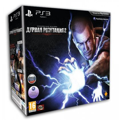 Дурная репутация 2 Hero Edition (PS3) Русская версия