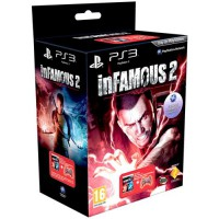 Комплект Дурная репутация 2 (PS3) + Dualshock RED