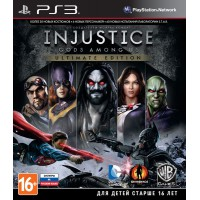 Injustice: Gods Among Us Ultimate Edition (PS3) Русские..
