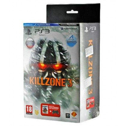 Комплект игра Killzone 3 (PS3) + геймпад Dualshock Jungle Green
