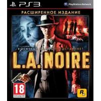 L.A.Noire Расширенное издание (PS3)