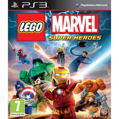 LEGO Marvel Super Heroes (PS3) Русские субтитры