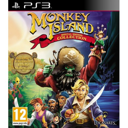 Monkey Island Special Edition Collection (PS3)