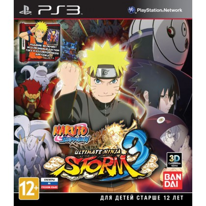 Naruto Shippuden: Ultimate Ninja Storm 3 (PS3) Русские субтитры