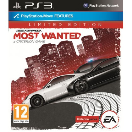 Need for Speed: Most Wanted Limited Edition (PS3) Русская версия
