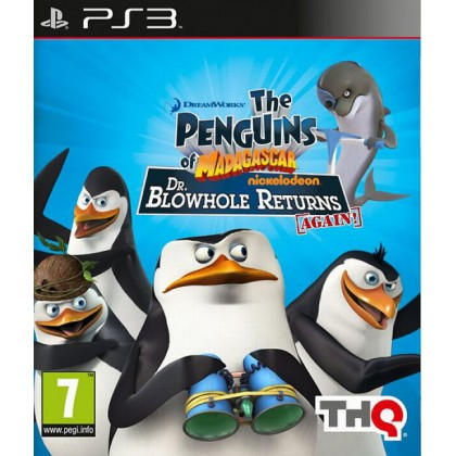Penguins of Madagascar: Dr. Blowhole Returns Again! (PS3)