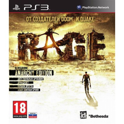 RAGE Anarchy Edition (PS3) Русская версия
