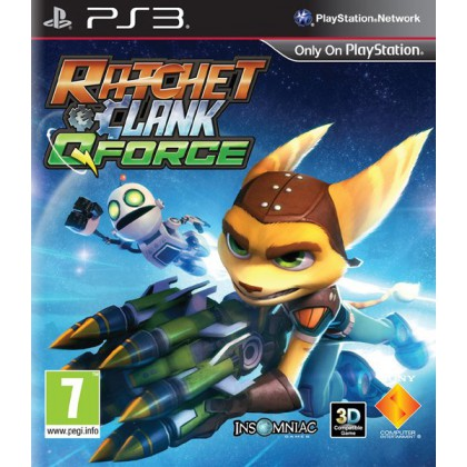 Ratchet & Clank QForce (PS3) Русская версия