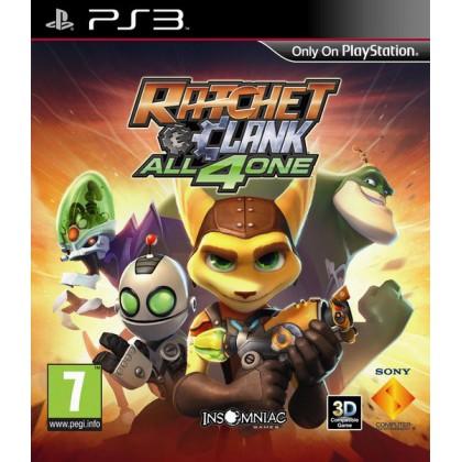 Ratchet & Clank: All 4 One (PS3) Русская версия