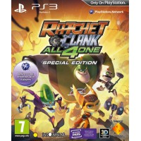 Ratchet & Clank: All 4 One Special Edition (PS3) Русская версия