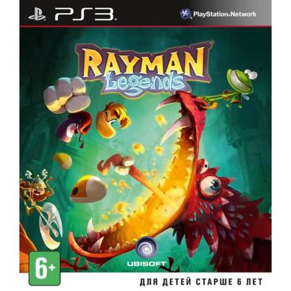 Rayman Legends (PS3) Русская версия