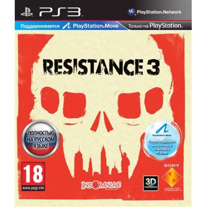Resistance 3 (PS3) Русская версия