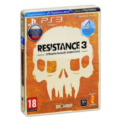Resistance 3 Special Edition (PS3) Русская версия