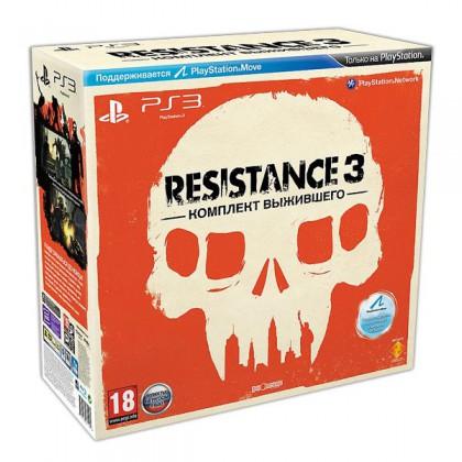 Resistance 3 Комплект выжившего (PS3) Русская версия