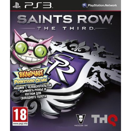 Saints Row: The Third Genki Pack (PS3) Русские субтитры