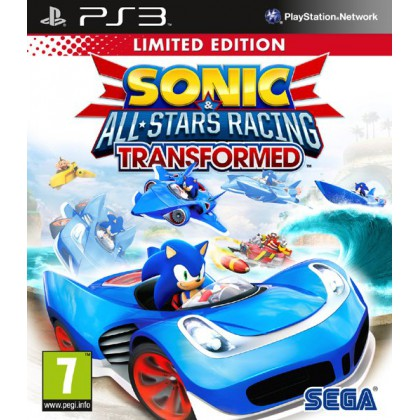 Sonic & All-Star Racing Transformed. Limited Edition (PS3)