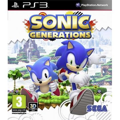 Sonic Generations. Специальное издание (PS3)