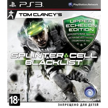 Splinter Cell: Blacklist Upper Echelon (PS3) Русская версия