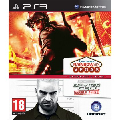 Splinter Cell Double Agent & Rainbow Six Vegas Double Pack (PS3)