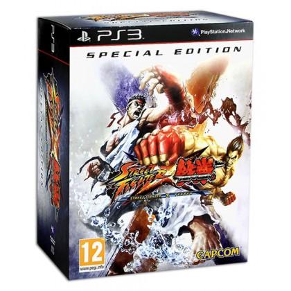 Street Fighter X Tekken Special Edition (PS3) Русские субтитры