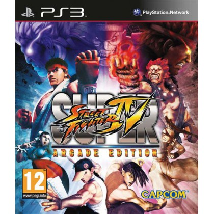 Super Street Fighter IV Arcade Edition (PS3)