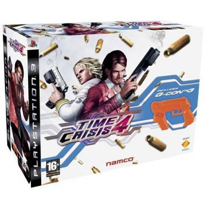 Time Crisis 4 + Пистолет G-Con (PS3)