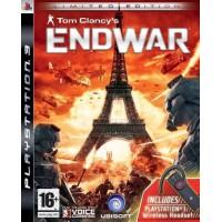 Tom Clancys EndWar + гарнитура (PS3) Русская версия